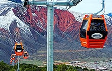 Glenwood Gondola in Winter