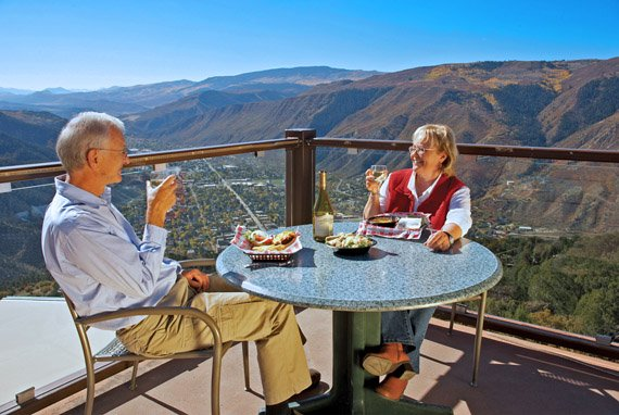 Best table in Glenwood Springs is at the Lookout Grille at Glenwood Caverns Adventure Park!