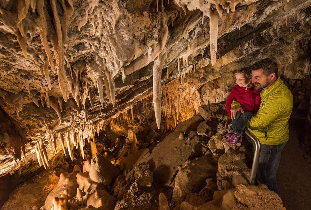 Take a cave tour at Glenwood Caverns for National Caves and Karst Day!